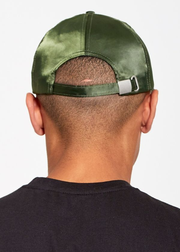 Poly Satin Baseball Cap