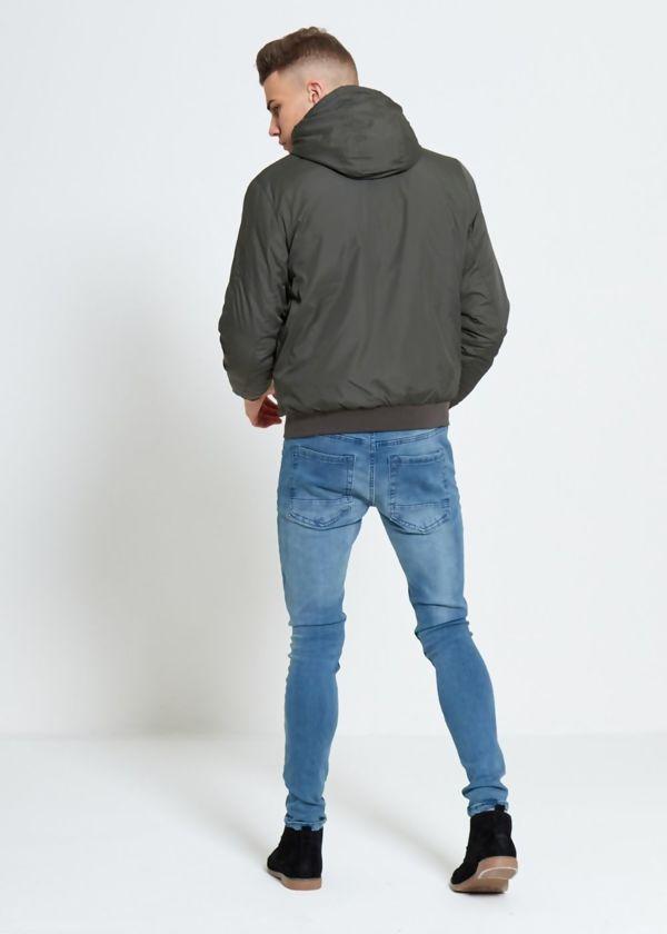 Khaki Light Weight Bomber Jacket