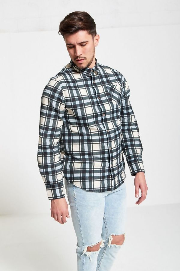 Line Checked Winter Shirt