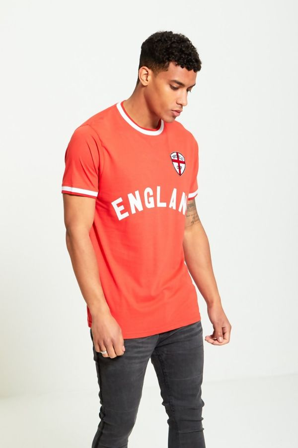 Mens England Printed Sports T-Shirt