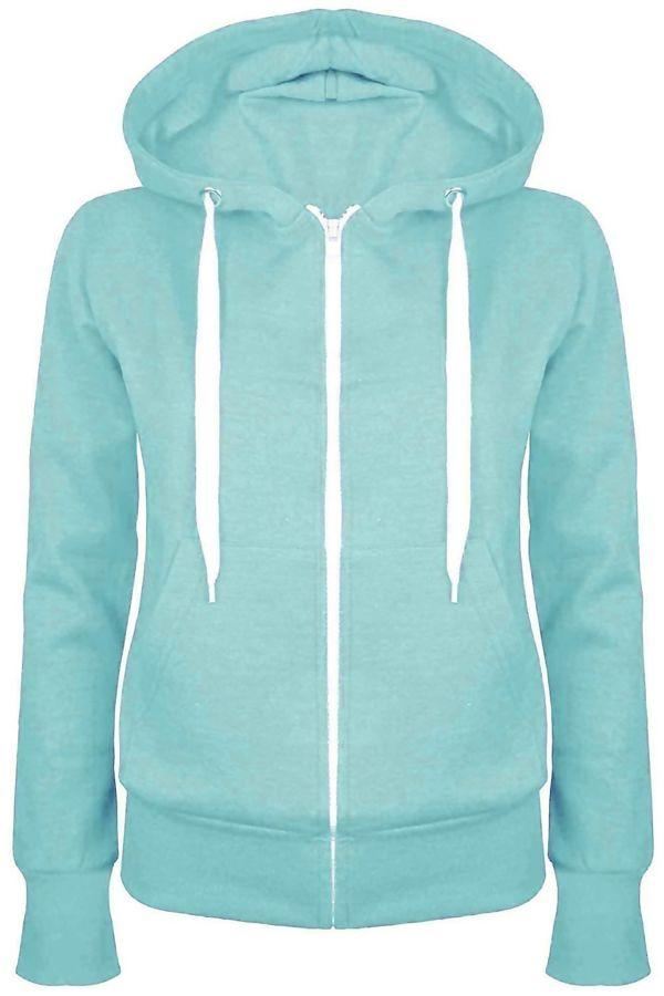 Mint Basic Hooded Jacket