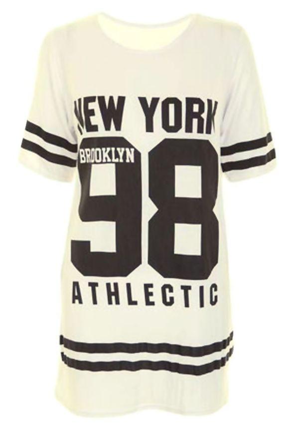 Mint New York 98 Oversize T-Shirt