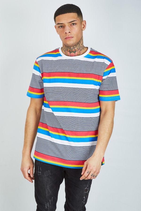 Multi Stripe T-Shirt