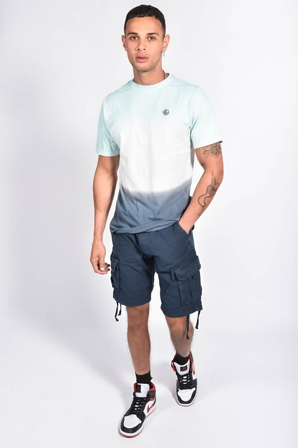 Multi Ombre Muscle Fit T-Shirt