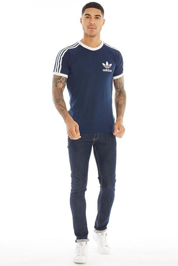 Navy Adidas California Originals Sport Essential T-Shirt