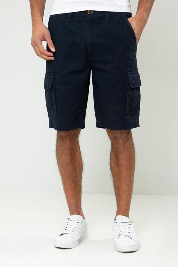 Navy Bute Cargo Shorts