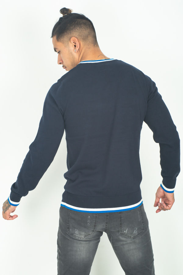 Navy Calan Jumper