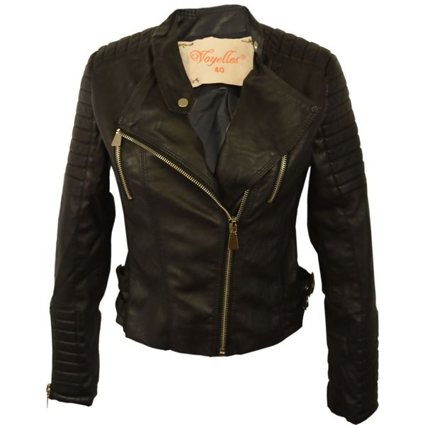 Navy Classic Motor Bike Jacket