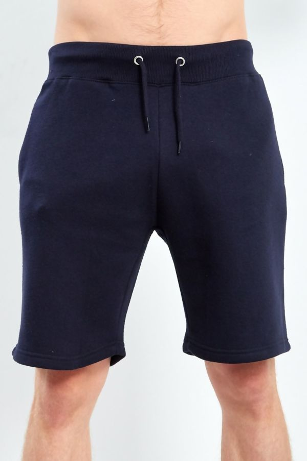 Navy Classic Plain Shorts
