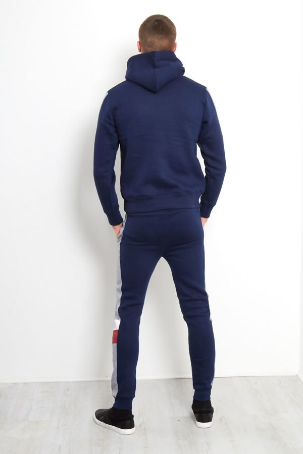 Navy Tricot ZipThrough Skinny Fit Tracksuit