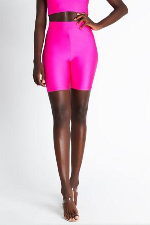 Neon Fuchsia Cycling Shorts
