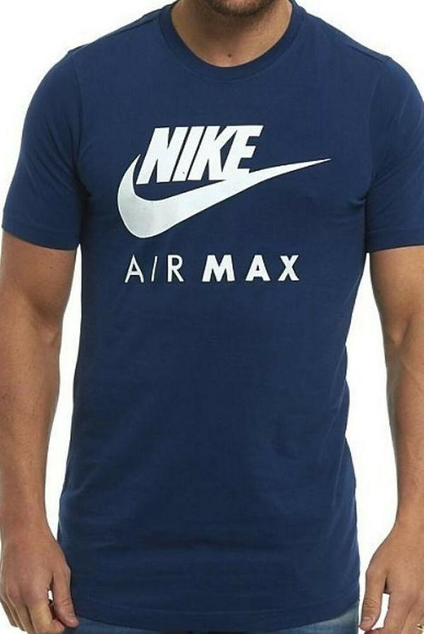 Navy Nike Air Max T-Shirt