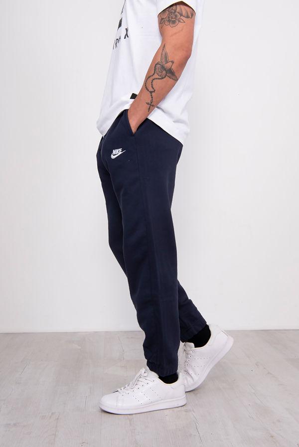 Navy Nike Club Fleece Joggers