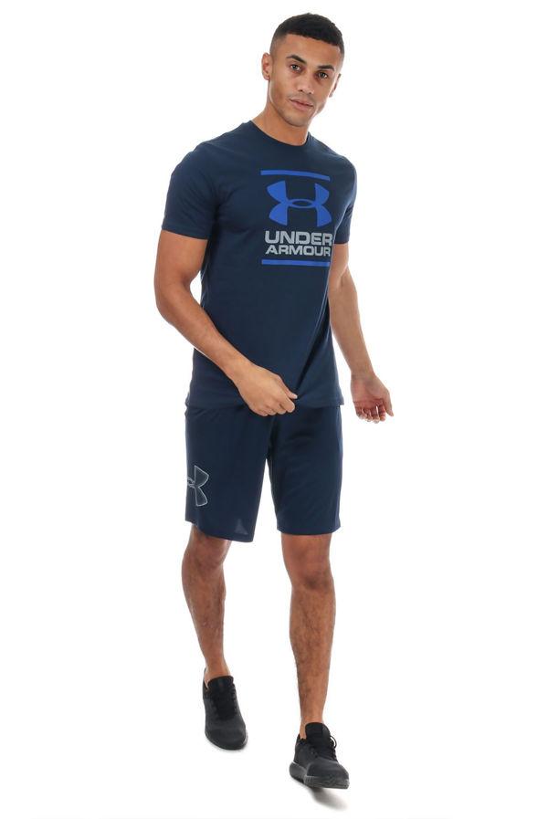 Navy Under Armour GL Foundation Short Sleeve T-Shirt
