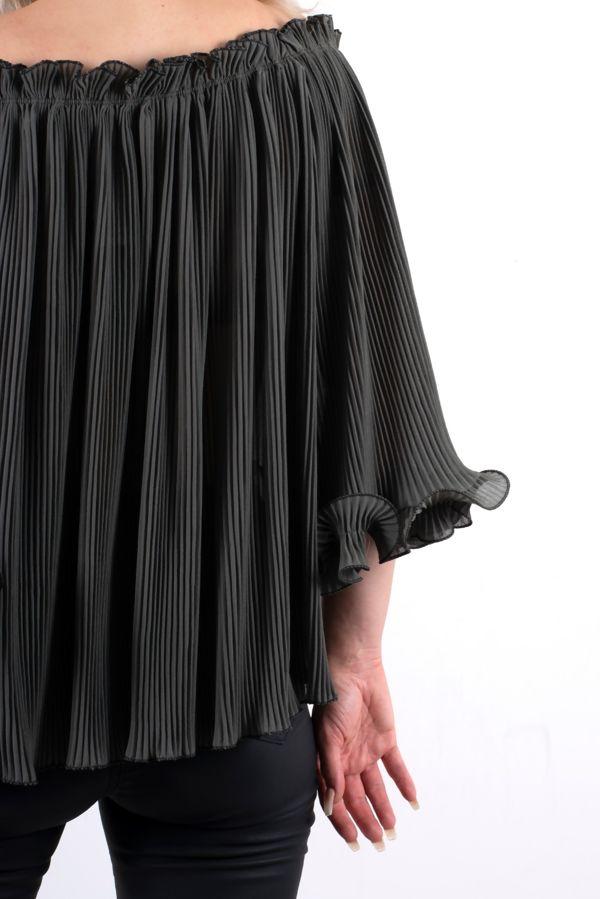 Pam Frill Off Shoulder Top