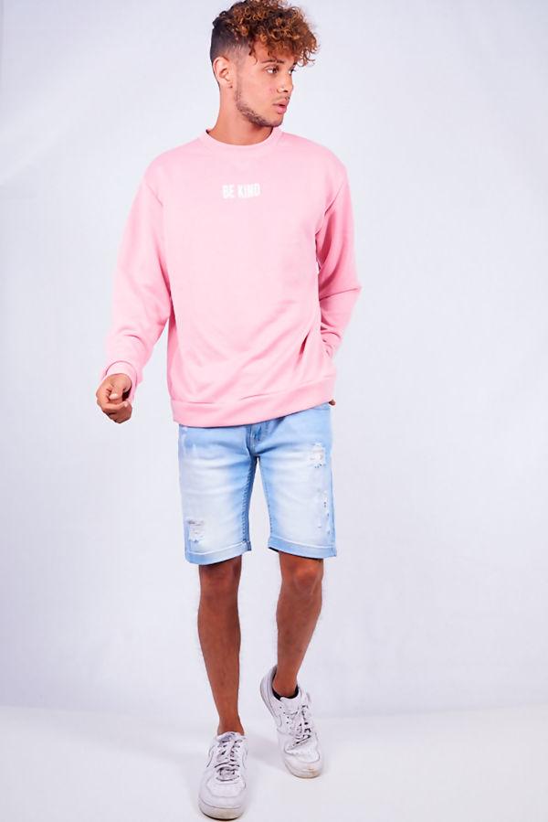 Pink Be Kind Sweatshirt