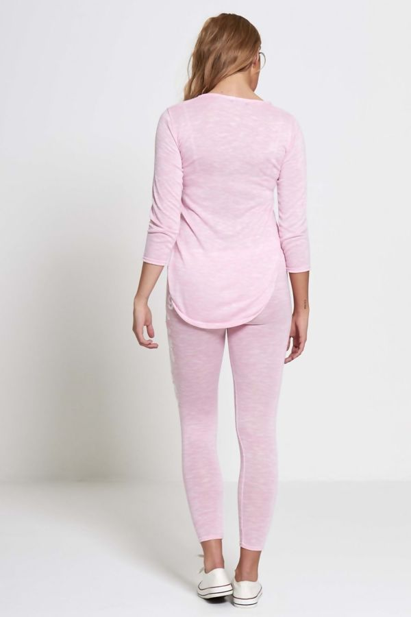 Pink NO9 Chic Tracksuit