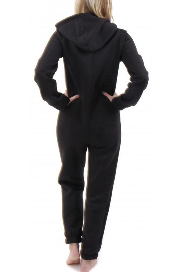 Black Plain Onesie Size 8/10