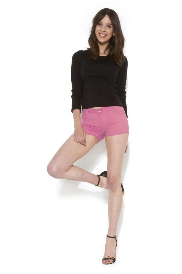 Plain Pink Shorts