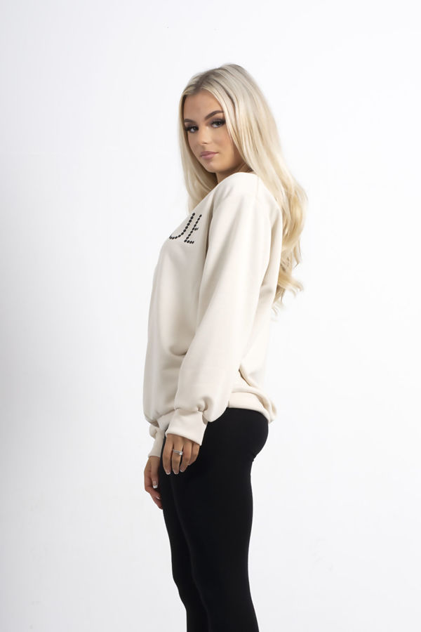Plus Size Stone VOGUE Sweatshirt