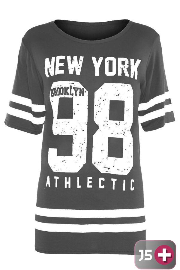 Plus Size Royal New York 98 Oversize T-Shirt