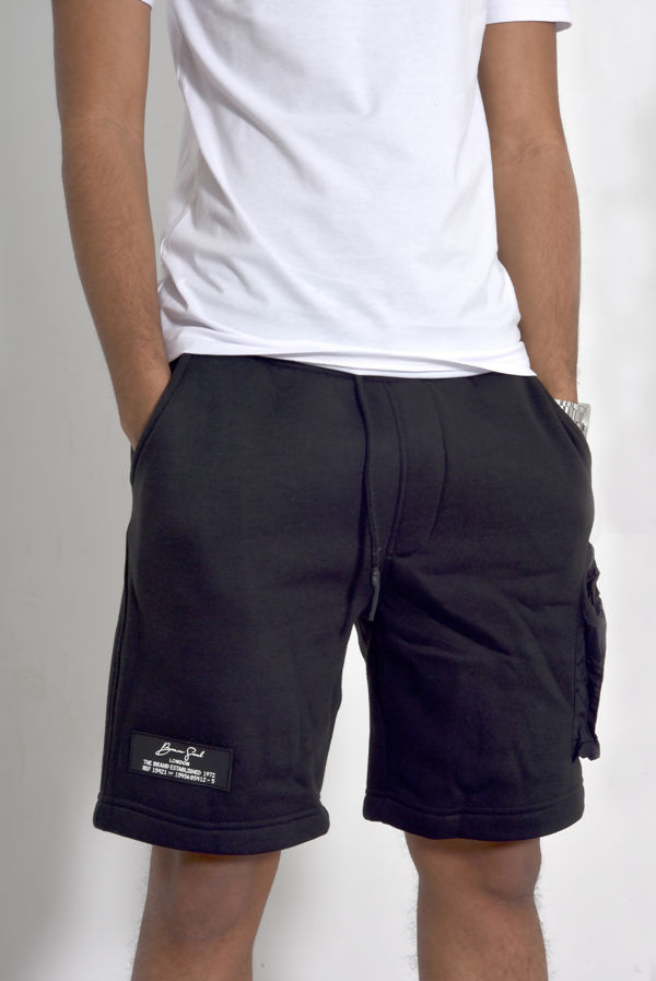 Patch Pockets Drawcords Shorts