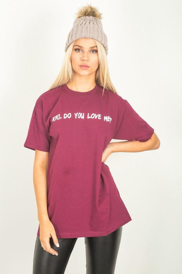 Purple Kiki Do You Love Me Top