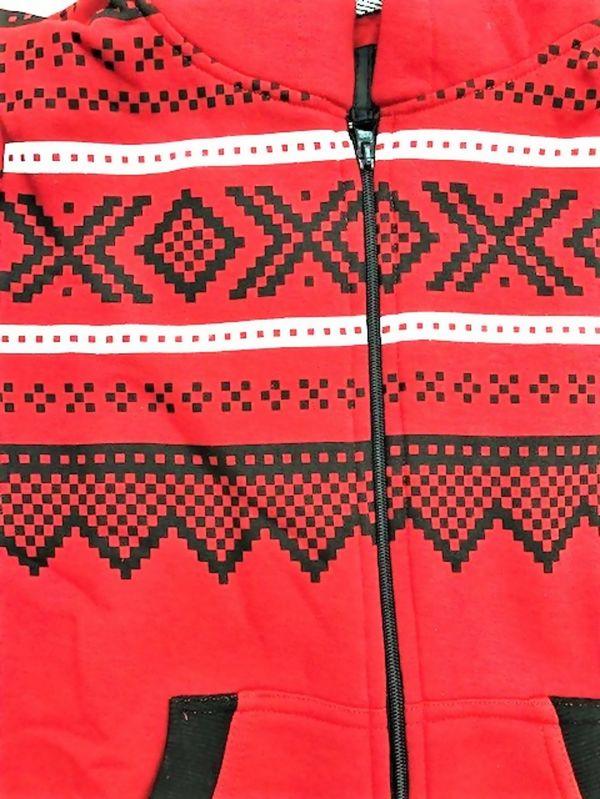 Red Aztec Onesie