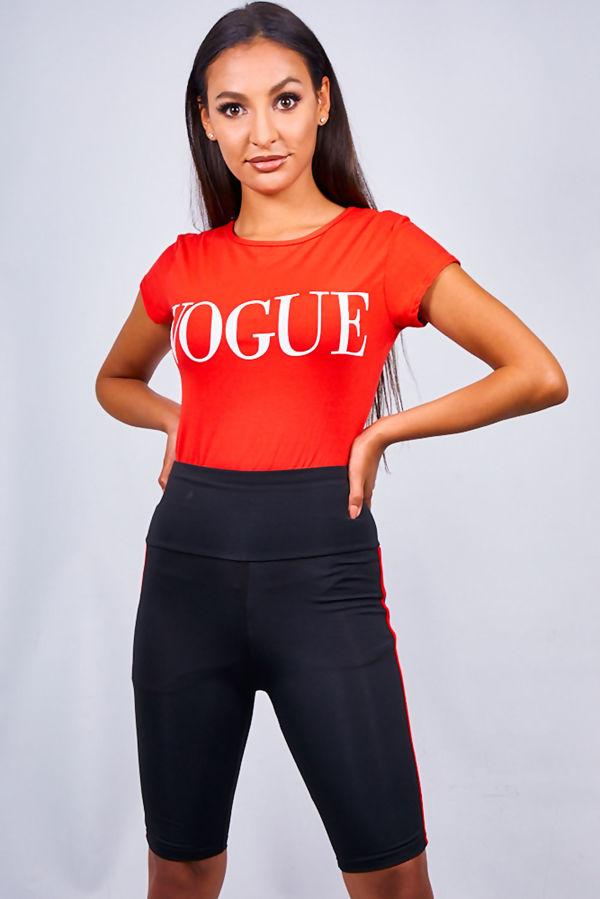 Grey Vogue Tee Top