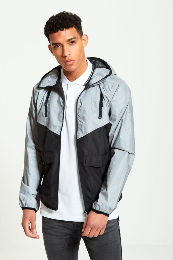 Reflective Panel Cagoule Jacket