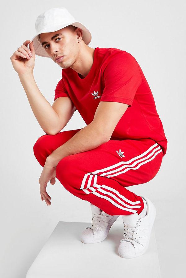 Red Adidas Originals Essential T-Shirt