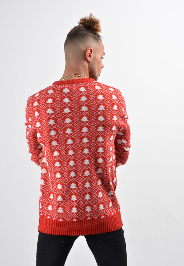 Red Breast Man Christmas Jumper