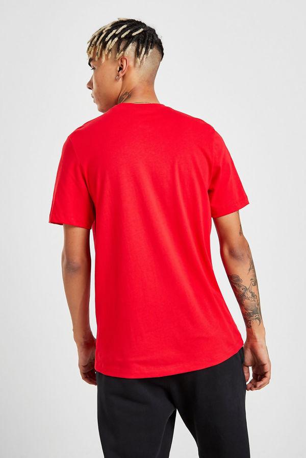 Red Nike Club T-Shirt