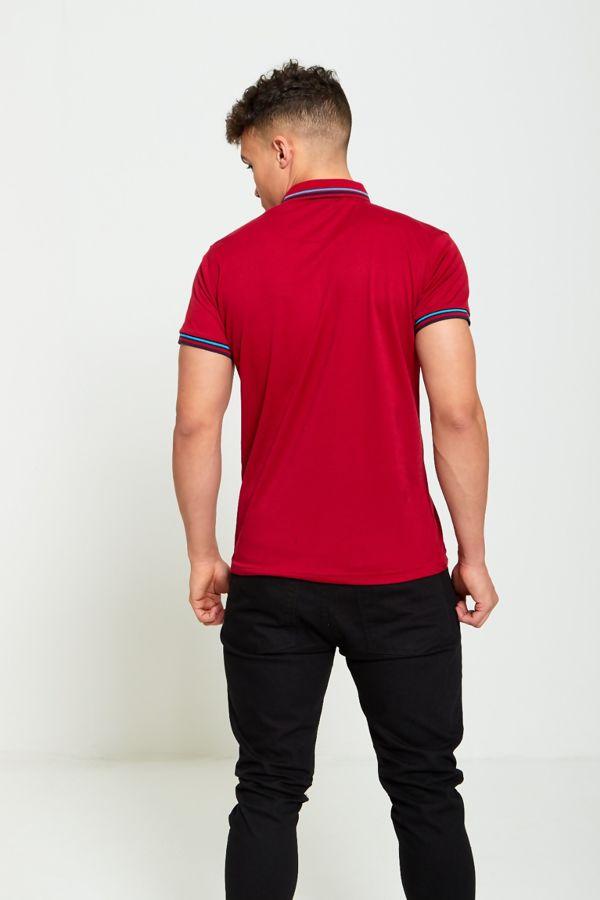 Bird Logo Polo T Shirt