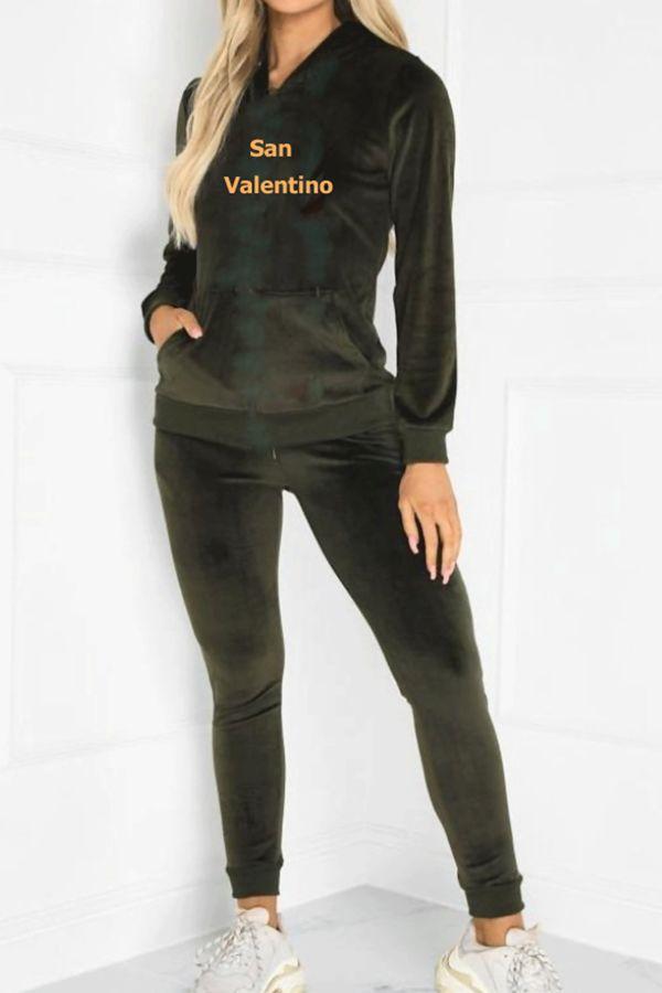 San Valentino Velvor Loungewear Set