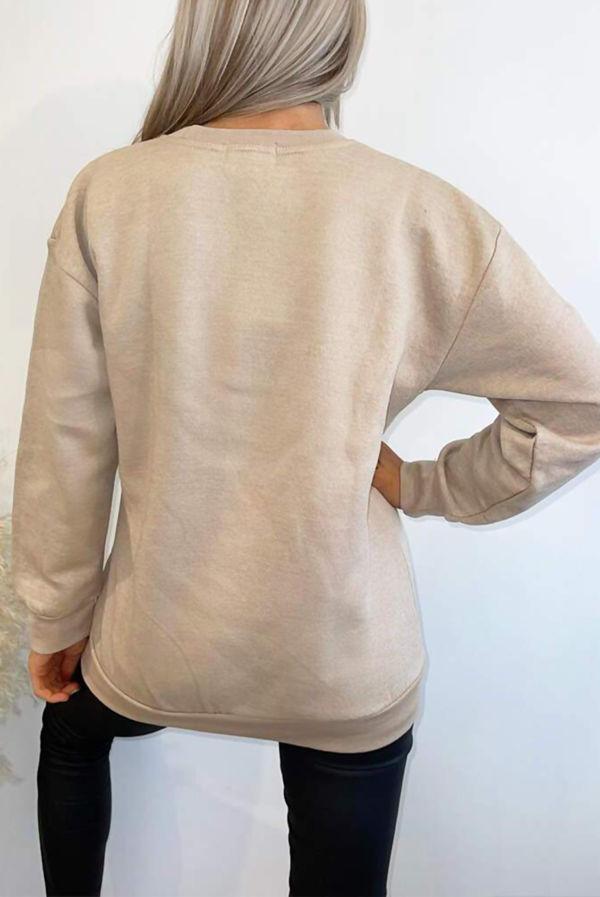 Stone Butterfly Heart Sweatshirt