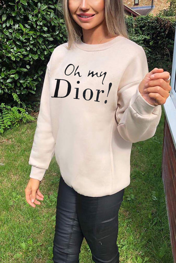Stone Oh My Dior! Sweatshirt