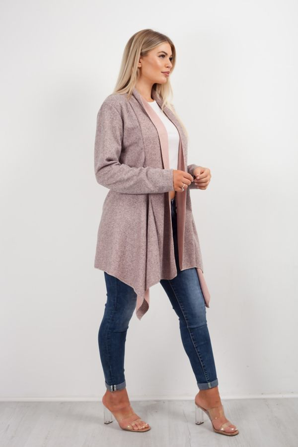 Space Feather Waterfall Cardigan