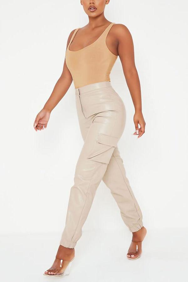 Stone Square Neck Slinky Thong Bodysuit