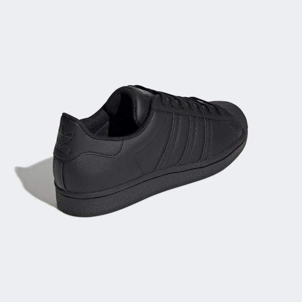 All Black Adidas Originals Superstar