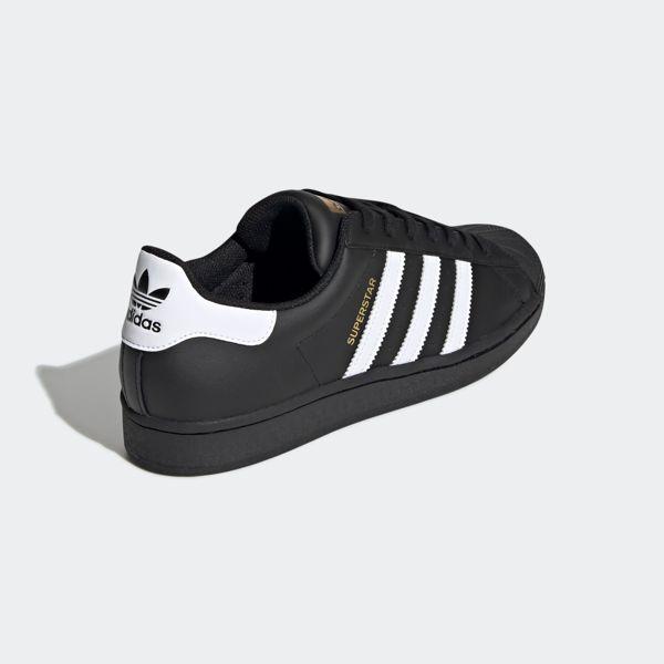 Black Adidas Originals Superstar