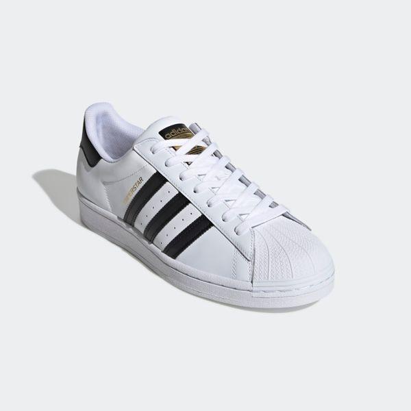 White Adidas Originals Superstar
