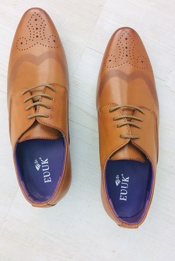 Tan Touched Classic Shoes