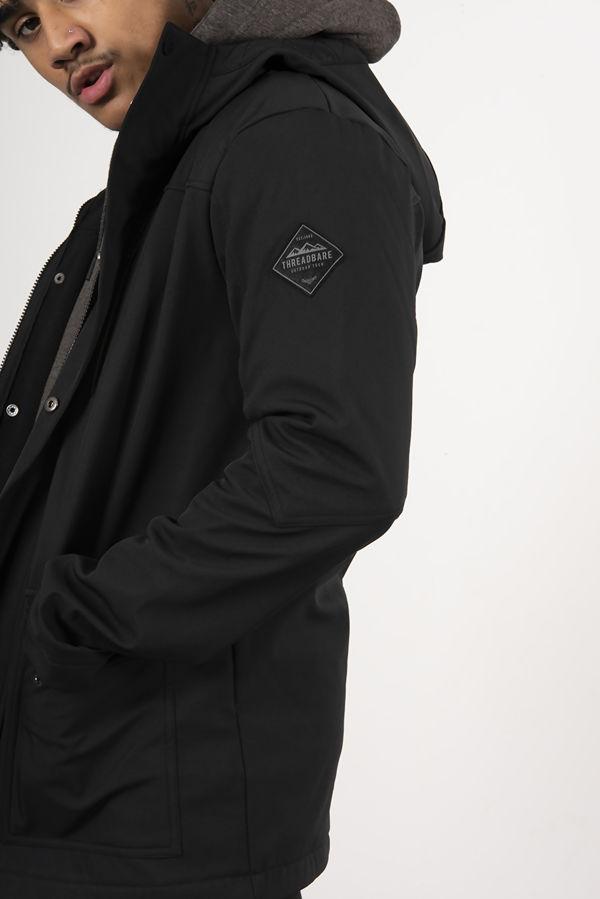 Black Kilbride Hooded Jacket