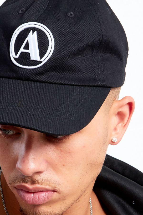 Black Aarhon Baseball Cap