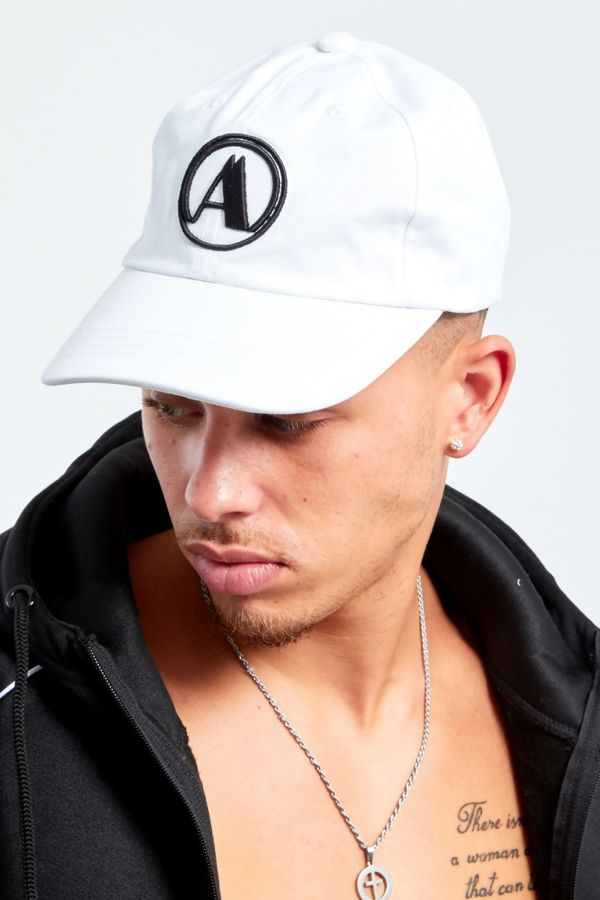 White Aarhon Baseball Cap