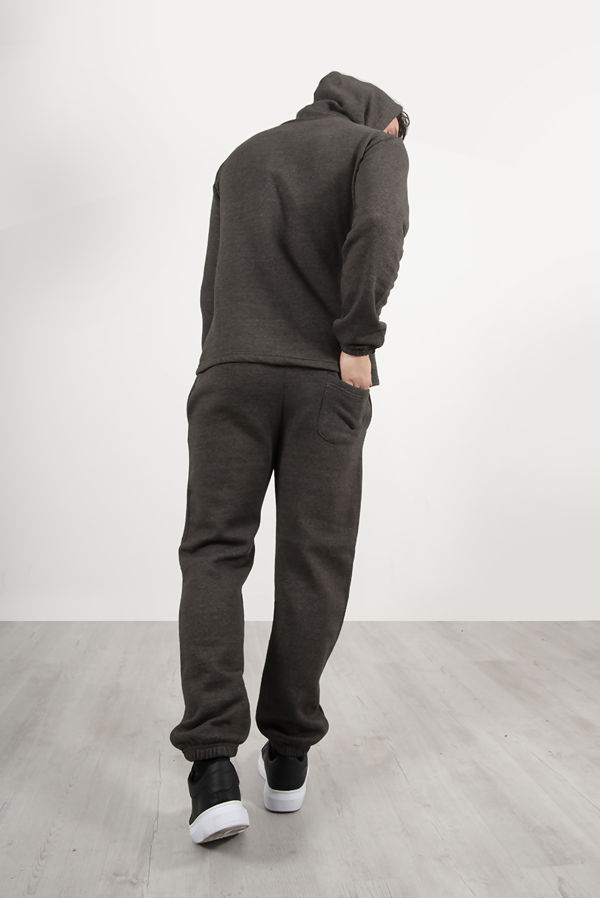 Charcoal Pullover Hooded Tracksuit