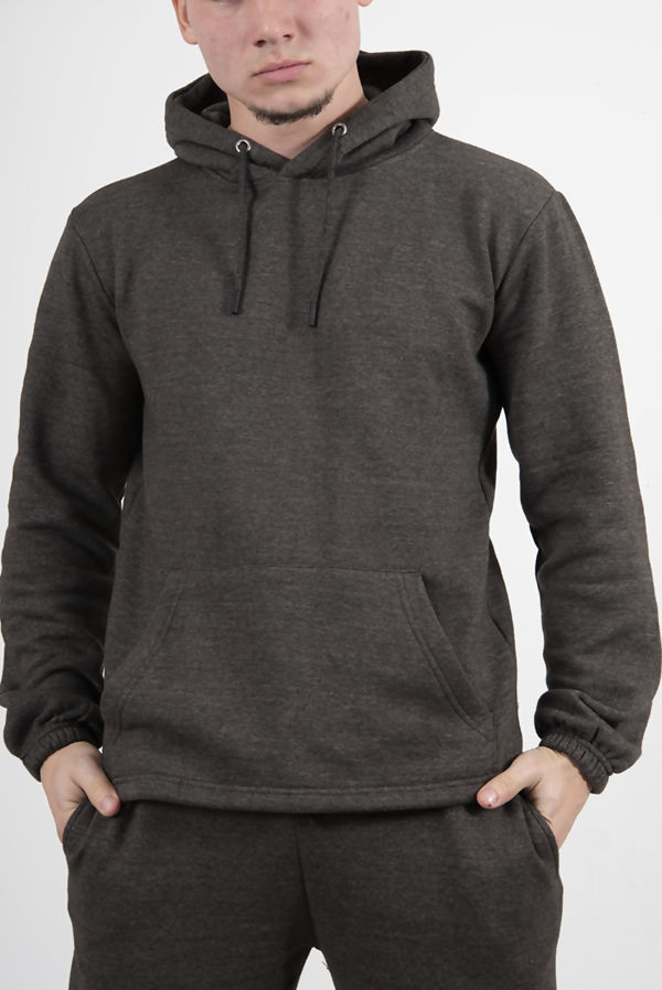 Charcoal Pullover Hooded Tracksuit Pre Order