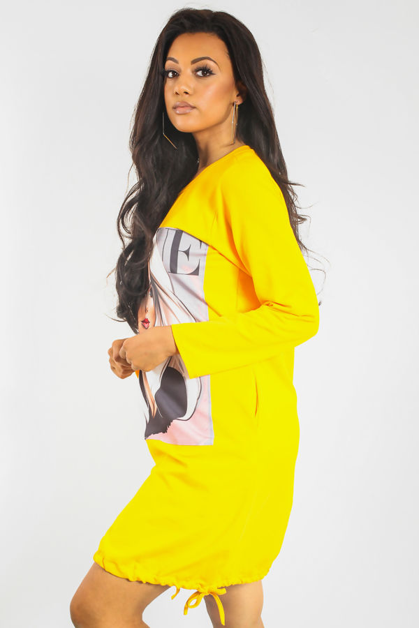 Vogue Girl Midi Dress