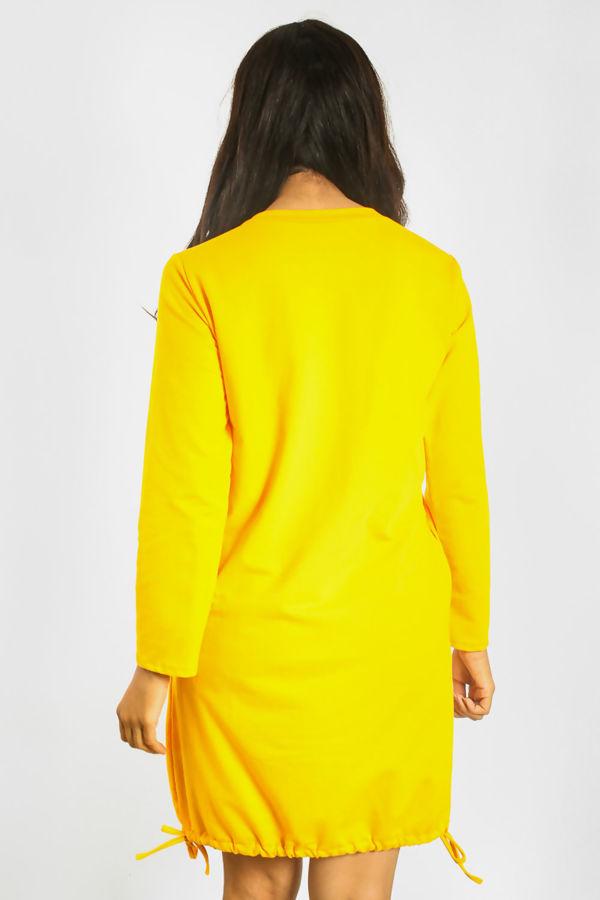 Khaki Vogue Girl Midi Dress